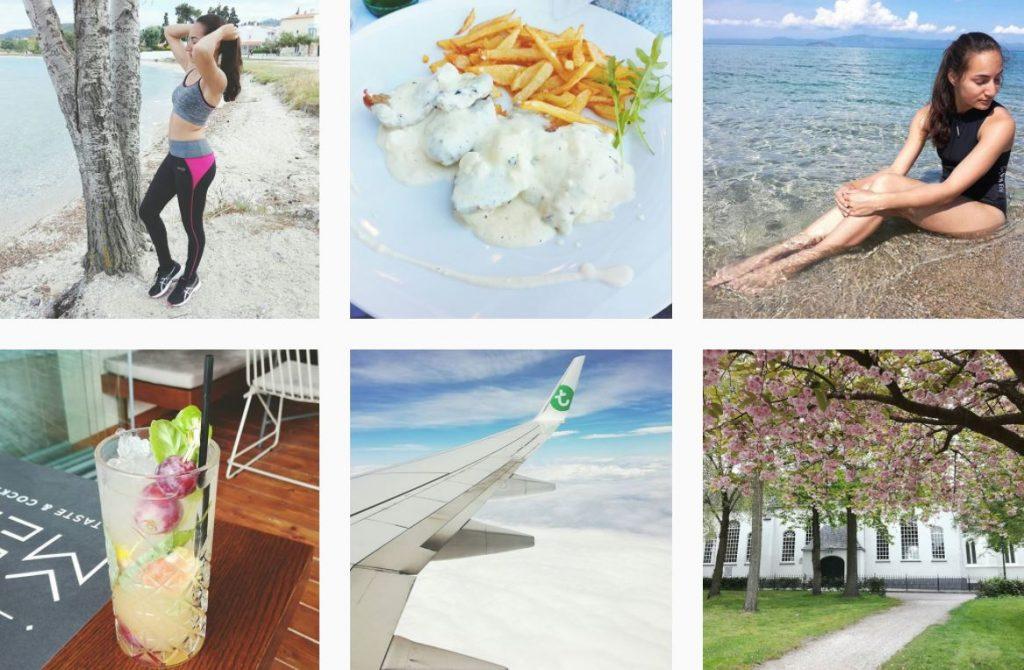 Instagram business account Nadeche Jocelyn feed