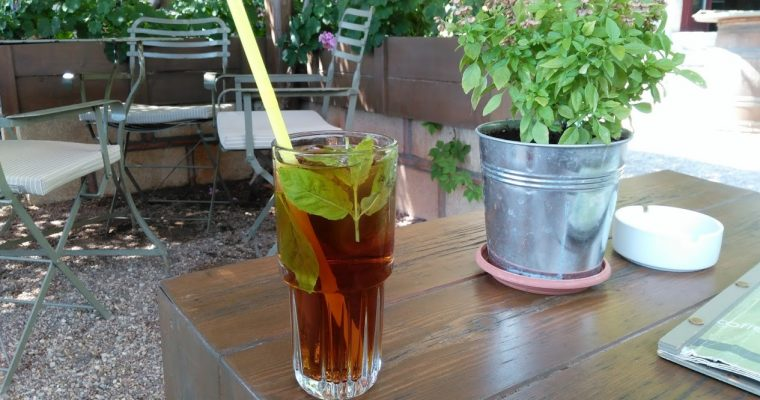 Zomers recept: Healthy Homemade Ice Tea