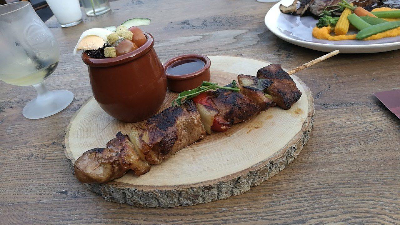Longhaas spies met groenten van restaurant @thePark in Lunteren