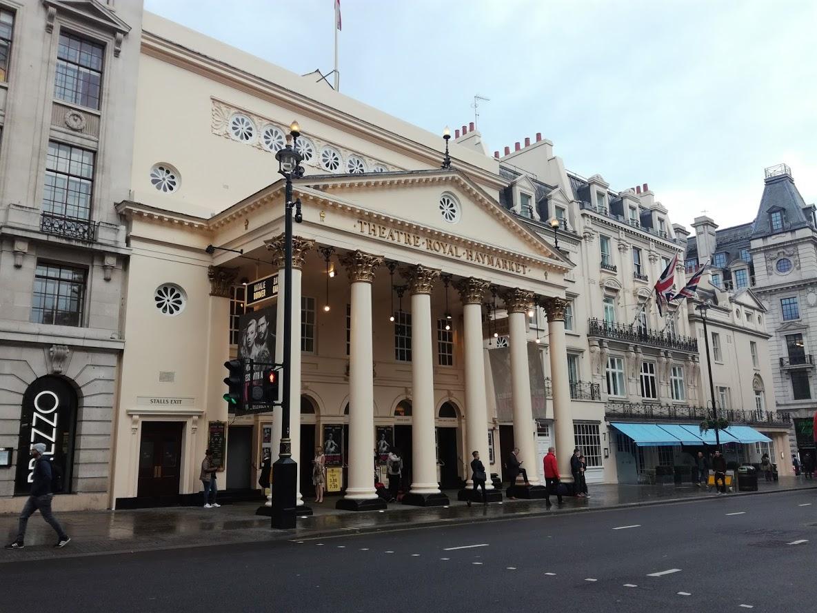 Mooi gebouw in Londen