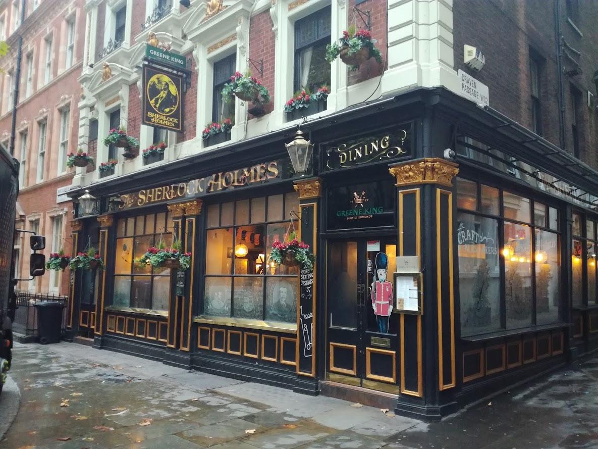 Sherlock Holmes pub in Londen