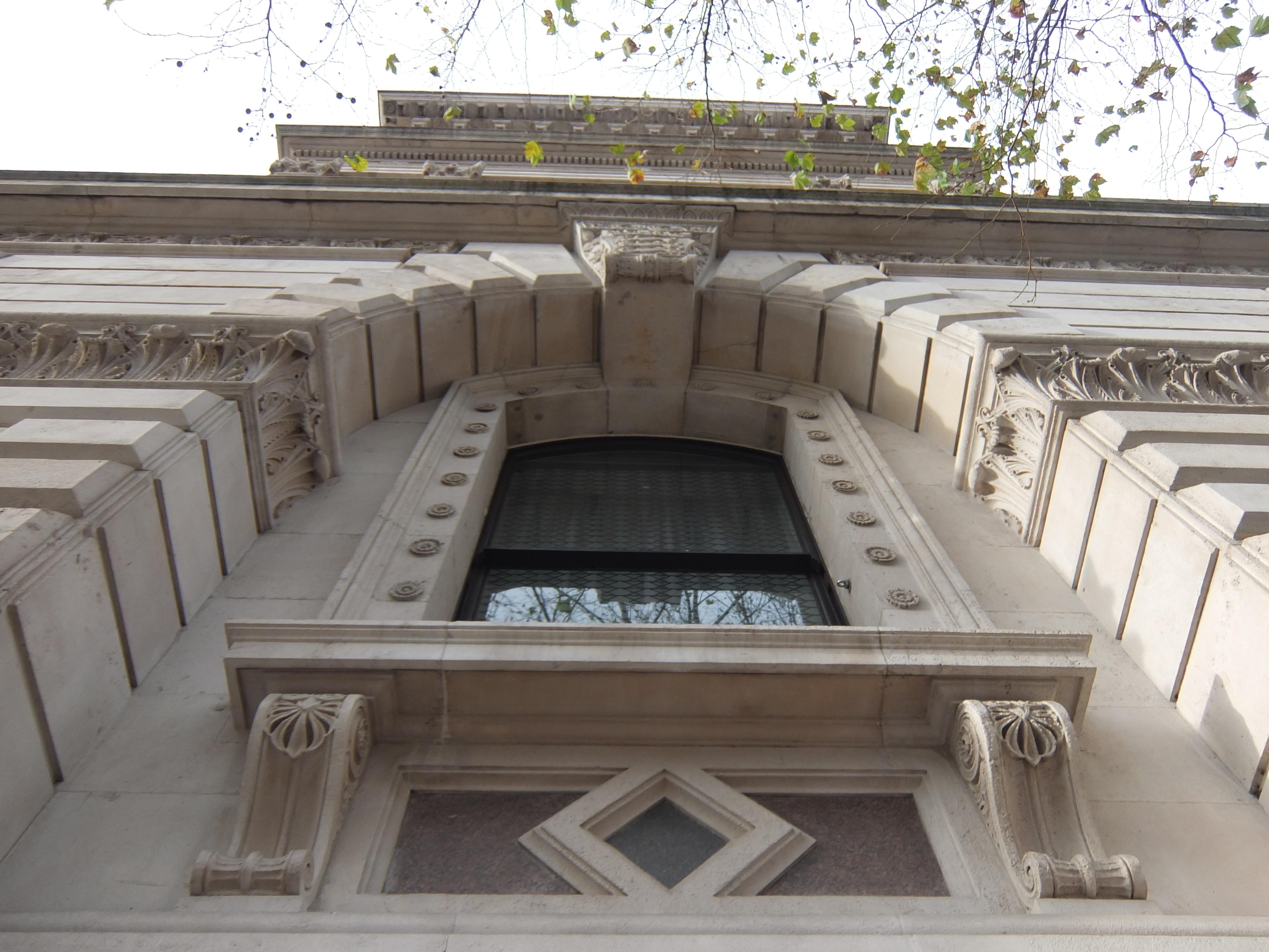 Mooi raam in Londen