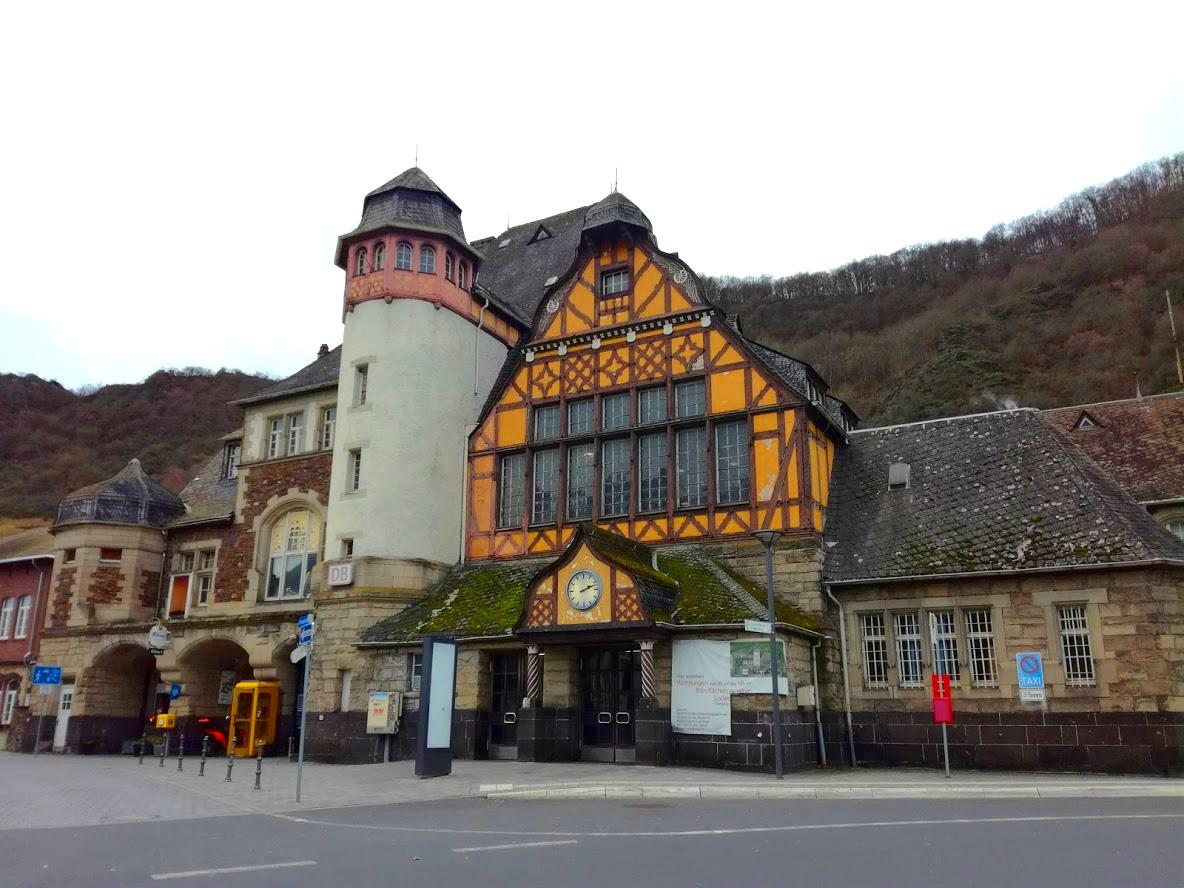 Station Cochem in Duitsland