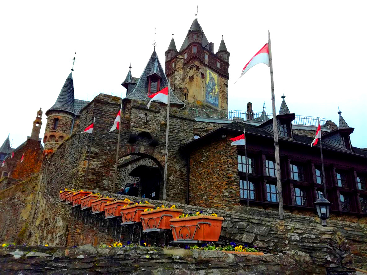 Cochem Castle in Duitsland