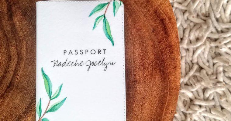 Mijn personalised passport cover van Zazzle