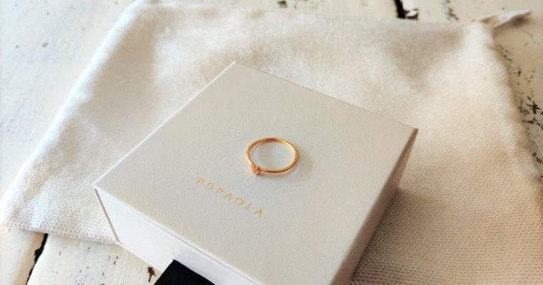 New in: Rosé Blush ring van PDPAOLA
