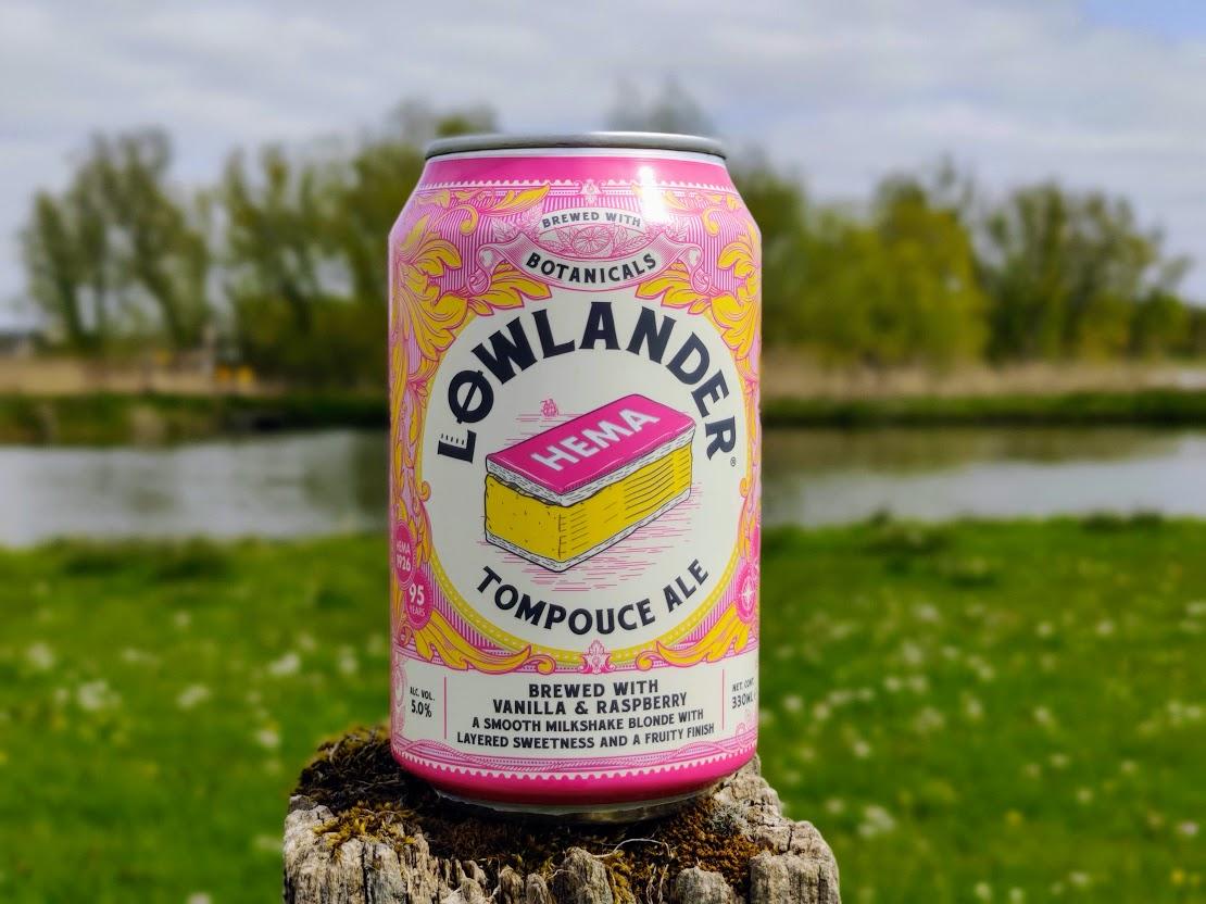 HEMA en Lowlander hebben dit limited edition Tompouce bier uitgebracht